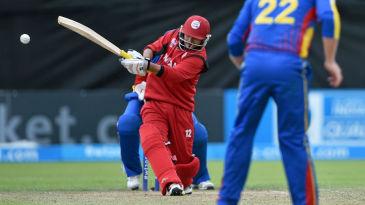 Zeeshan Siddiqui pulls away during his unbeaten 32-ball 51