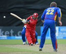 Zeeshan Siddiqui pulls away during his unbeaten 32-ball 51, Namibia v Oman, World T20 Qualifier, Play-off, Dublin, July 23, 2015