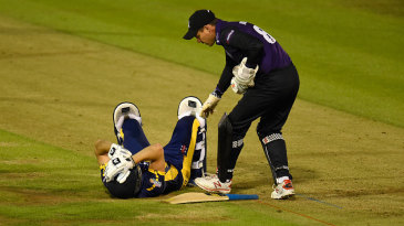 Graham Wagg was forced to retire hurt after a blow to the head