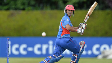 Najibullah Zadran smashed four fours and two sixes