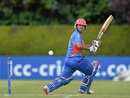 Najibullah Zadran smashed four fours and two sixes, Afghanistan v Oman, World T20 Qualifier, July 25, 2015