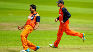 Mudassar Bukhari ran through the Ireland line-up with returns of 4 for 28