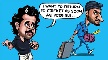 Cartoon: Return to cricket?