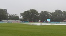 Wet weather welcomed the two finalists in Malahide, Netherlands v Scotland, World T20 Qualifier final, Malahide, July 26, 2015