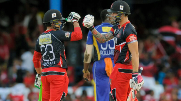 Kamran Akmal and Cameron Delport added 102 for the second wicket for Red Steel