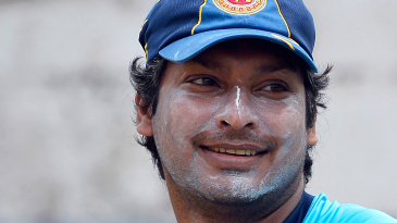 Kumar Sangakkara close-up