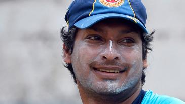 Kumar Sangakkara close-up