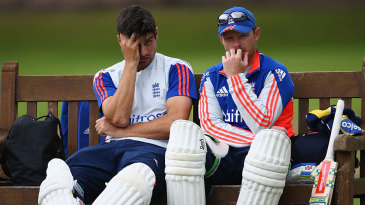 Alastair Cook and Ian Bell face different pressures in the third Test