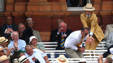 MCC members attempt to catch a six