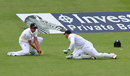 Alastair Cook took a low catch to remove Steven Smith, England v Australia, 3rd Test, Edgbaston, 1st day, July 29, 2015