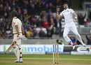 Mitchell Marsh fell for a duck as James Anderson rattled Australia after lunch, England v Australia, 3rd Test, Edgbaston, 1st day, July 29, 2015