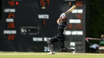 Kumar Sangakkara hit 16 boundaries in his 109