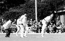 Denis Atkinson took 12 wickets in the tour game, Essex v West Indies, 1st day, Ilford, May 11, 1957