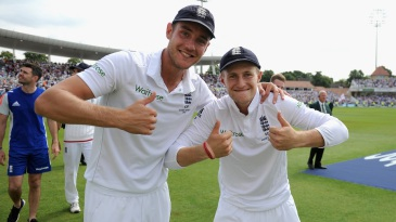 Stuart Broad and Joe Root played key roles in the win