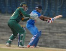 Unmukt Chand plays a cut, India A v South Africa A, A team Tri-series, Chennai, August 9, 2015