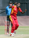 Chris Mpofu conceded 24 runs in his three overs, Zimbabwe v New Zealand, only T20I, Harare, August 9, 2015