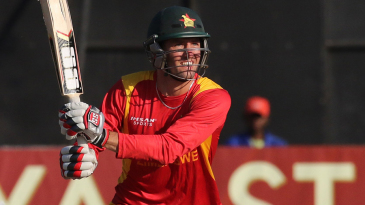 Craig Ervine was the only Zimbabwe batsman to score more than 20 runs