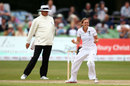 Laura Marsh picked up a couple of wickets with her offspin, England v Australia, Women's Ashes Test, Canterbury, 1st day, August 11, 2015