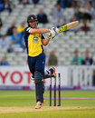 Laurie Evans made an attractive half-century, Birmingham v Essex, NatWest T20 Blast quarter-final, Edgbaston, August 13, 2015