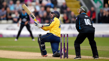 James Vince raced to a half-century off 37 balls