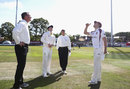 Steven Smith called correctly at the coin toss, Northamptonshire v Australians, Tour match, Northampton, 2nd day, August 15, 2015