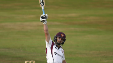 Steven Crook thrashed a hundred against his countrymen
