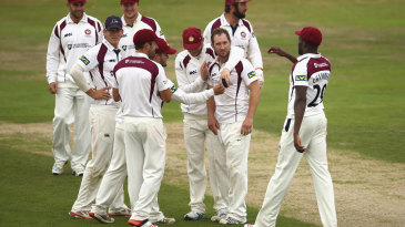 Steven Crook added wickets to his hundred with the bat