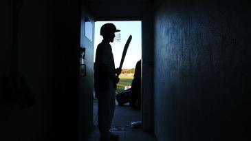 A cricketer for Langwarrin U-16