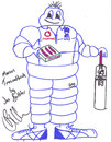 Jos Buttler sketches Marcus Trescothick as the 'Michelin Man'