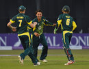 Jonte Pattison's three wickets sparked England's wobble, England U-19s v Australia U-19s, 3rd Youth ODI, Derby, August 17, 2015