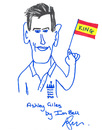 Ian Bell sketches the king of Spain