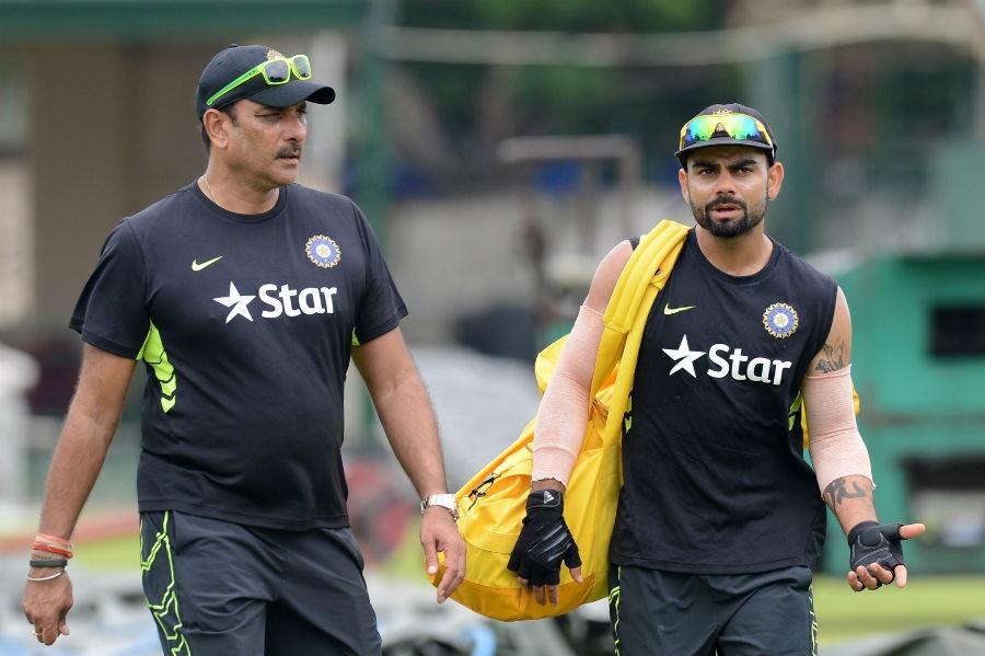 Shashtri and Kohli