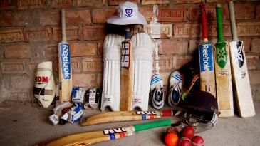 Ankit Keshri's cricket gear