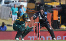 Rilee Rossouw gets under a bouncer, South Africa v New Zealand, 1st ODI, Centurion, August 19, 2015
