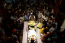 Mourners gather around the body of Ankit Keshri, Kolkata, April 21, 2015