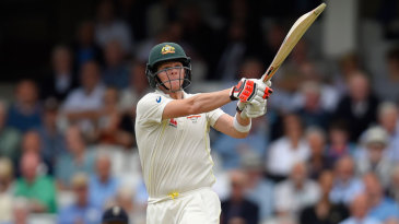 Steven Smith progressed beyond a half-century