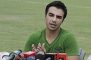 Salman Butt speaks to the media, following news that his ban will be lifted soon, Lahore, August 20, 2015