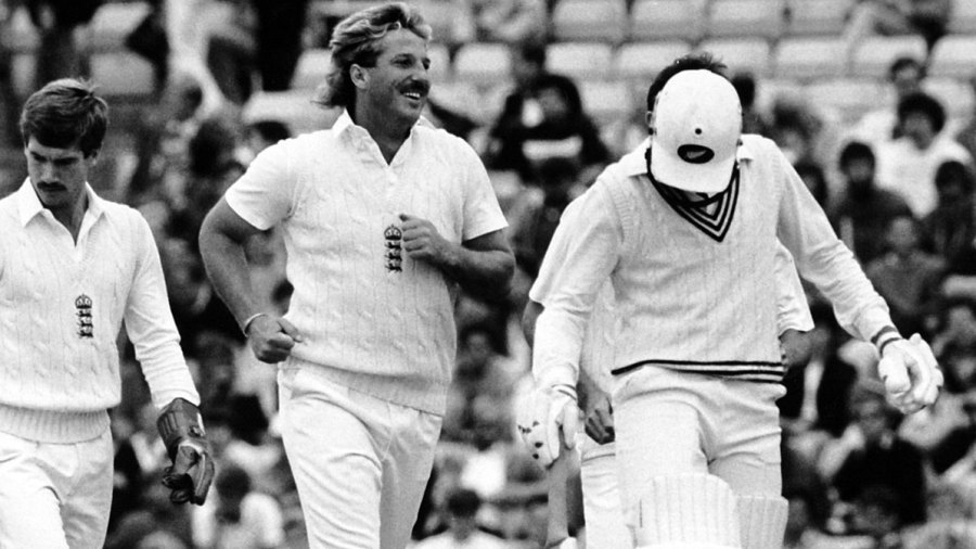 Ian Botham makes a triumphant return to Tests