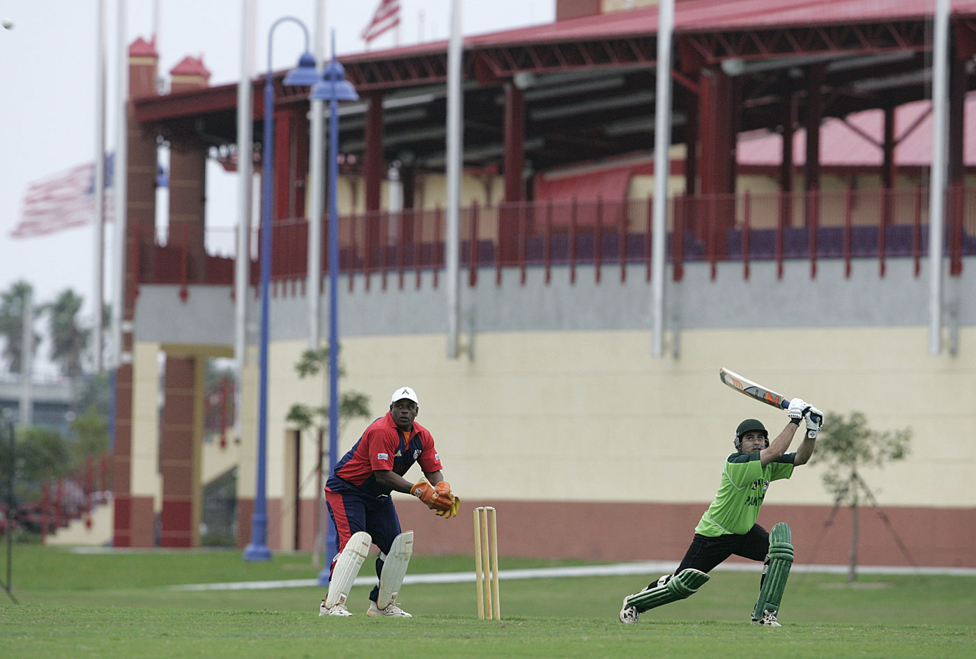 White elephant? The Central Broward Stadium in Florida, which has hosted only five international T20s since its debut in 2012, may end up catering to soccer