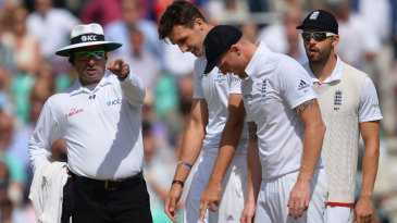 Steven Finn was again denied his 100th Test wicket by a front-foot no-ball