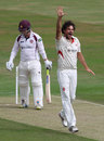 Clint McKay took four early wickets, Northamptonshire v Leicestershire, County Championship, Division Two, Wantage Road, 1st day, August 21, 2015