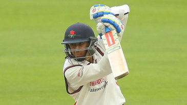 Haseeb Hameed made his first-class debut for Lancashire