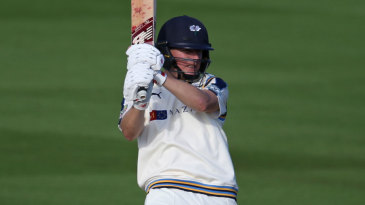 Gary Ballance finished the day on 98 not out