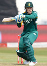 Morne van Wyk shapes to execute a pull, South Africa v New Zealand, 3rd ODI, Durban, August 26, 2015