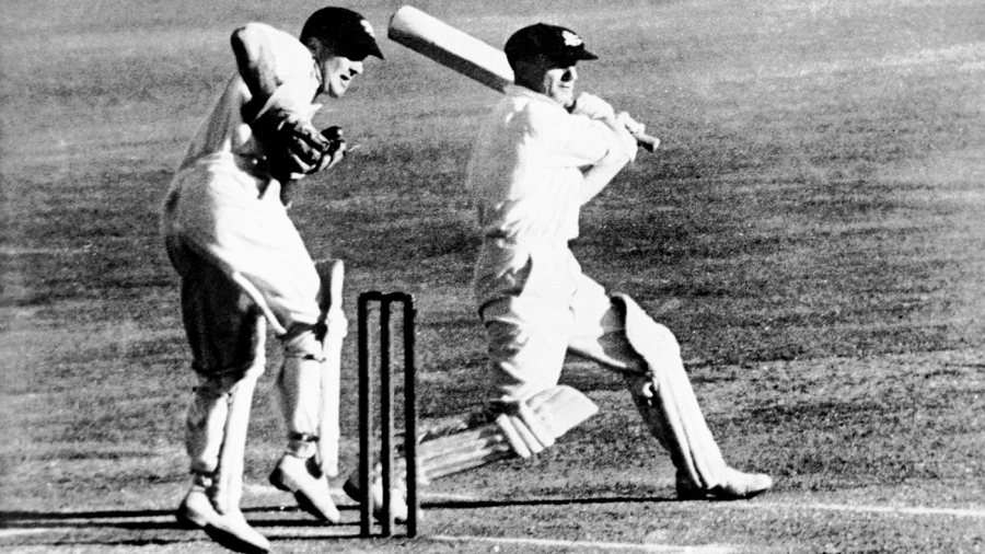 Don Bradman made a double-century