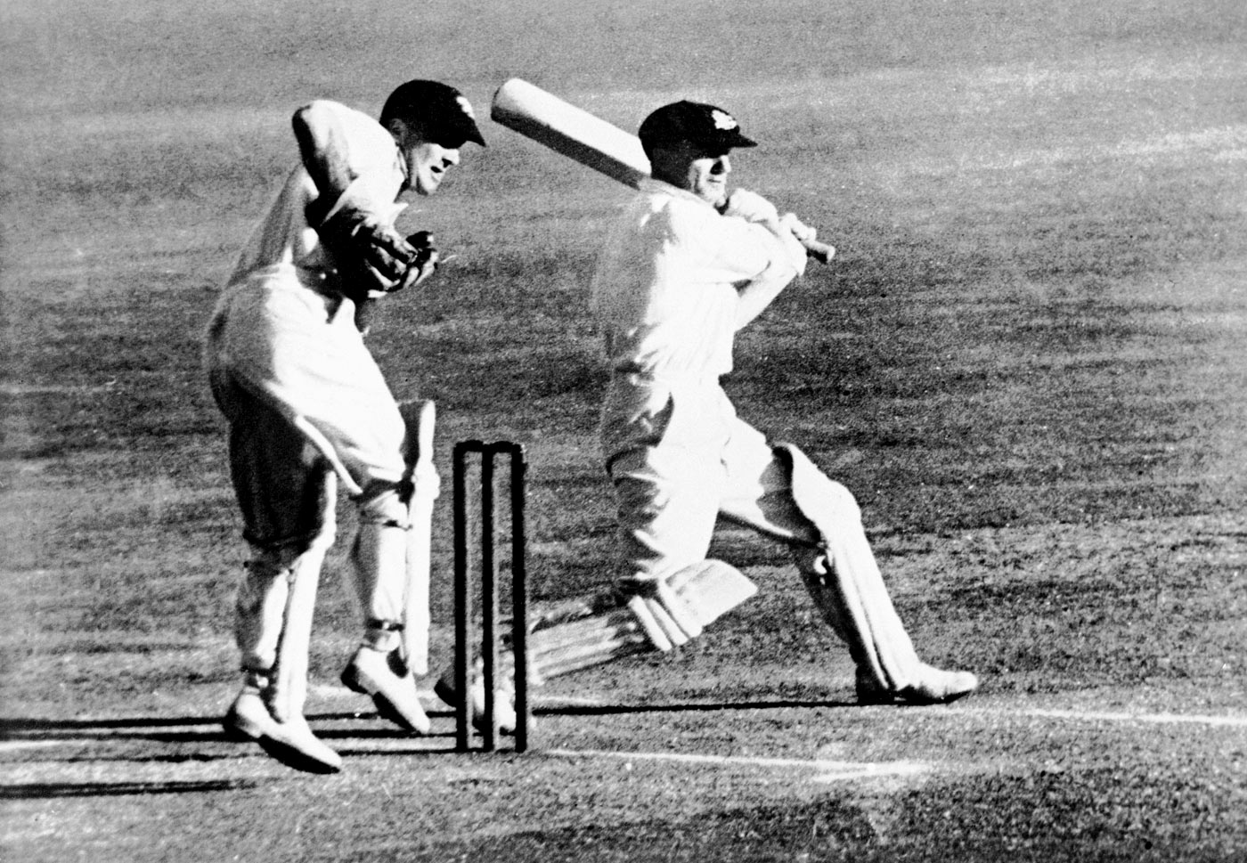 After being reprieved by umpire Borwick in 1946, an emboldened Bradman was able to make a double-century in the next Test, and thus undeservingly remain in the annals of cricket history as the greatest batsman of them all