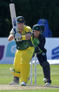 Shane Watson ended unbeaten on 26, Ireland v Australia, Only ODI, Stormont, August 27, 2015