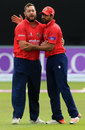 Jesse Ryder and Ravi Bopara were effective with their medium pace, Essex v Yorkshire, Royal London Cup, Quarter-final, Chelmsford, August 27, 2015