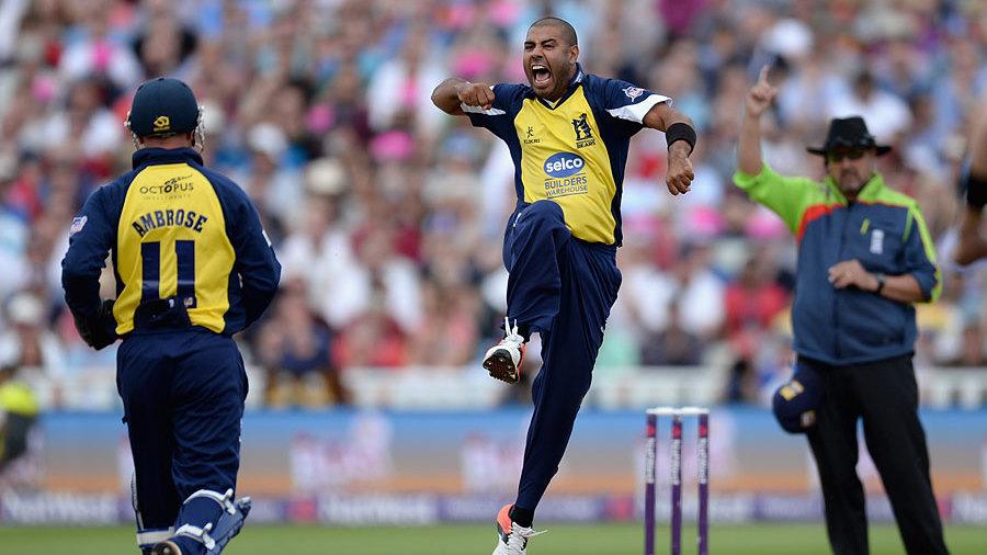 Jeetan Patel gave Birmingham a glimmer