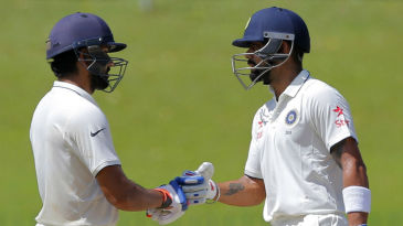 Rohit Sharma and Virat Kohli added 57 for the fourth wicket